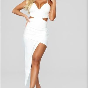 NWT white cut out dress!